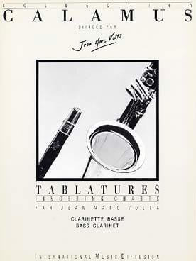 Jean-Marc Volta - Tablatures - Bass Clarinet - Partition - di-arezzo.com