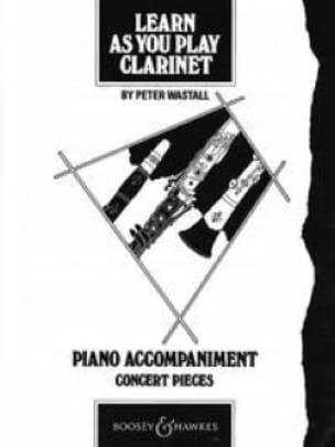 Learn as you play clarinet - Piano acc. - laflutedepan.com