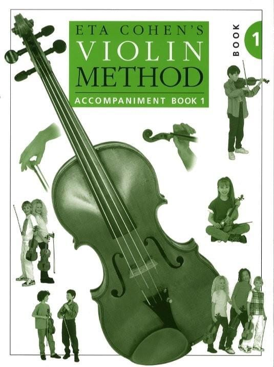 Eta Cohen - Violin Method, Volume 1 - Piano accomp. - Partition - di-arezzo.com