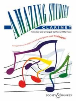 Amazing Studies - Clarinet - Howard Harrison - laflutedepan.com