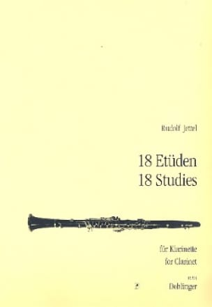 Rudolf Jettel - 18 Etüden - Klarinette - Partition - di-arezzo.co.uk