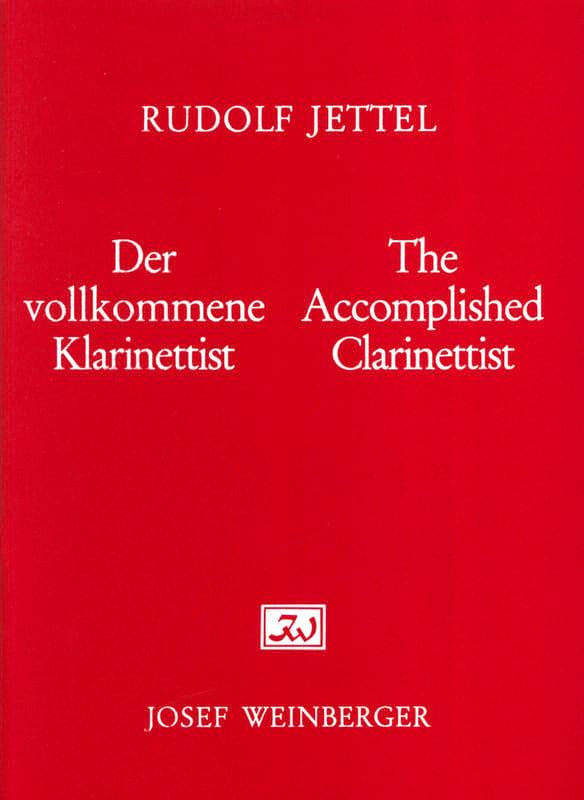 Rudolf Jettel - The accomplished clarinettist - Volume 3 - Partition - di-arezzo.co.uk
