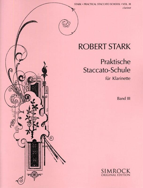 Praktische Staccato-Schule - Teil 3 - Robert Stark - laflutedepan.com