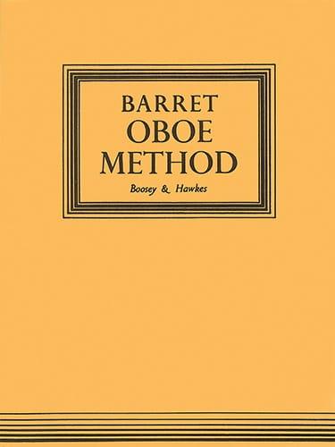 A. M. R. Barret - Oboe Method - Partition - di-arezzo.fr