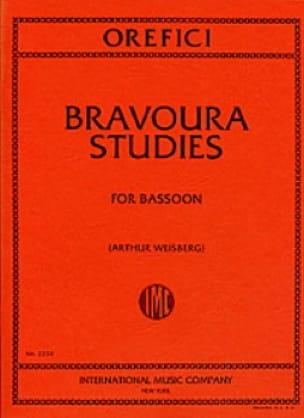 Bravoura studies - Alberto Orefici - Partition - laflutedepan.com