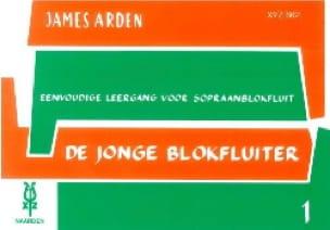 De Jonge Blokfluiter - Volume 1 - James Arden - laflutedepan.com