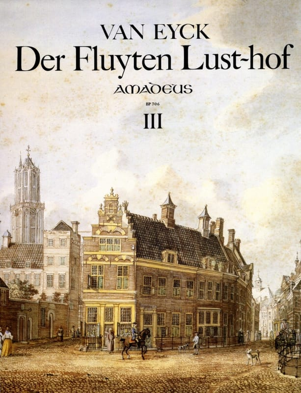 Jacob van Eyck - Der Fluyten Lust Hof Volume 3 - Partition - di-arezzo.co.uk