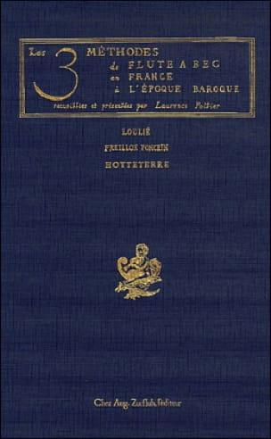 Les 3 Méthodes de Flûte A Bec en France A L'époque Baroque - laflutedepan.com