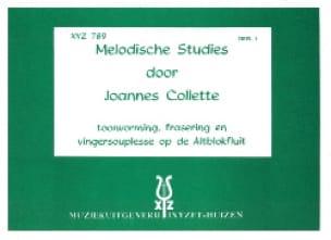 Melodische Studies - Volume 2 - Joannes Collette - laflutedepan.com