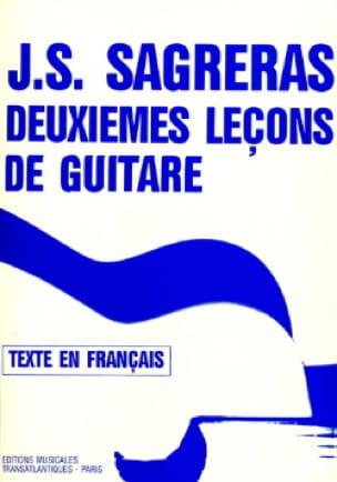 Julio S. Sagreras - Deuxièmes leçons de guitare - Partition - di-arezzo.fr