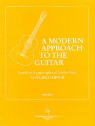 Guido Topper - A Modern Approach To The Guitar Volume 4 - Partition - di-arezzo.com