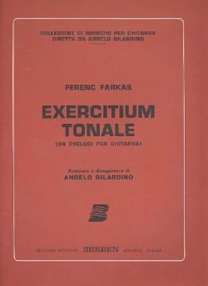 Exercitium tonale - Ferenc Farkas - Partition - laflutedepan.com