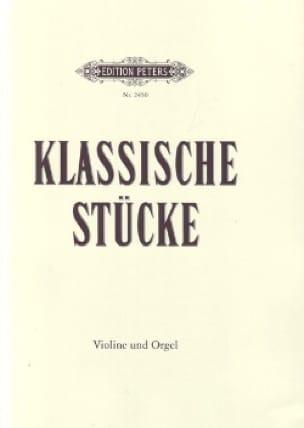 Klassische Stücke - für Violine und Orgel Album - laflutedepan.com