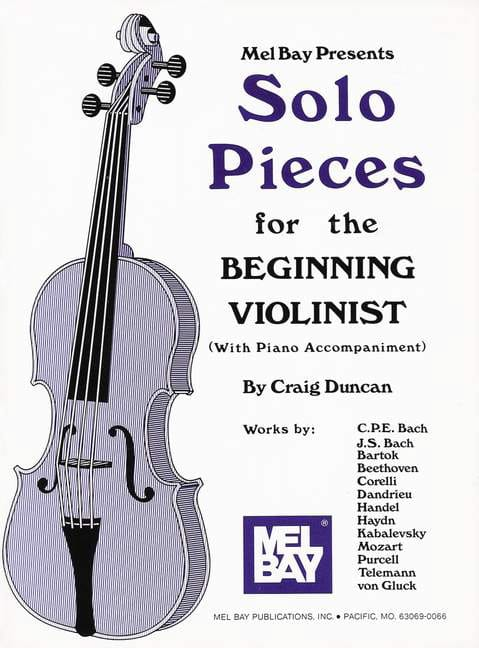 Craig Duncan - Solo Pieces For The Beginning Violinist - Partition - di-arezzo.com
