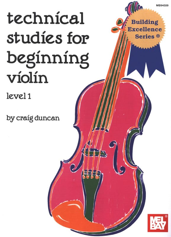 Craig Duncan - Technical studies for beginning violin - level 1 - Partition - di-arezzo.co.uk