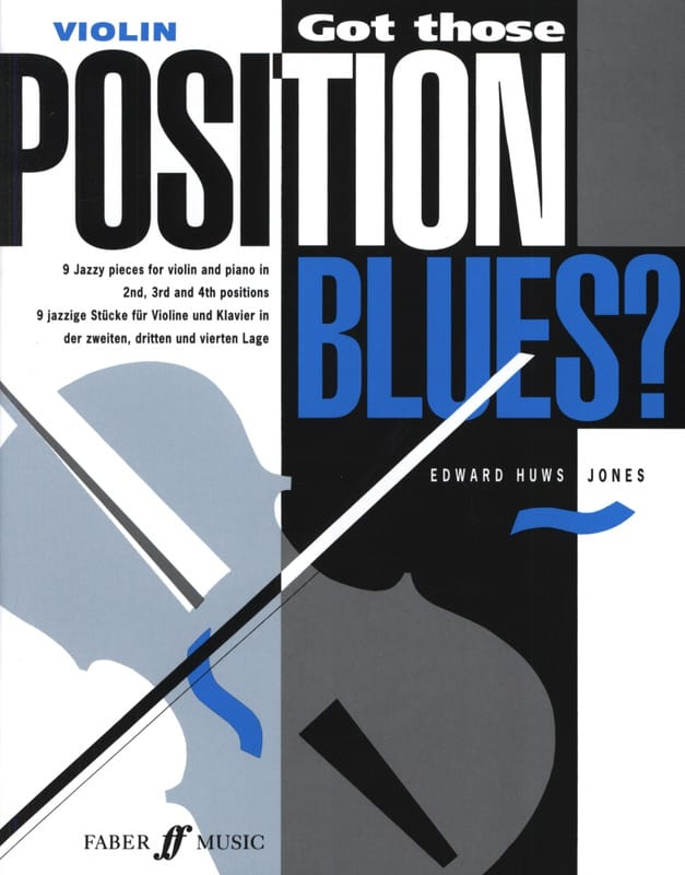 Jones Edward Huws - Got those position Blues? - Violin - Partition - di-arezzo.co.uk