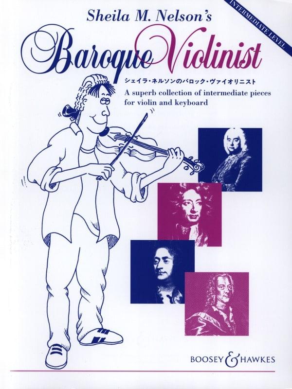 Sheila M. Nelson's Baroque Violonist - laflutedepan.com