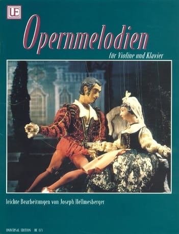 Opernmelodien - Violon - Joseph Hellmesberger - laflutedepan.com