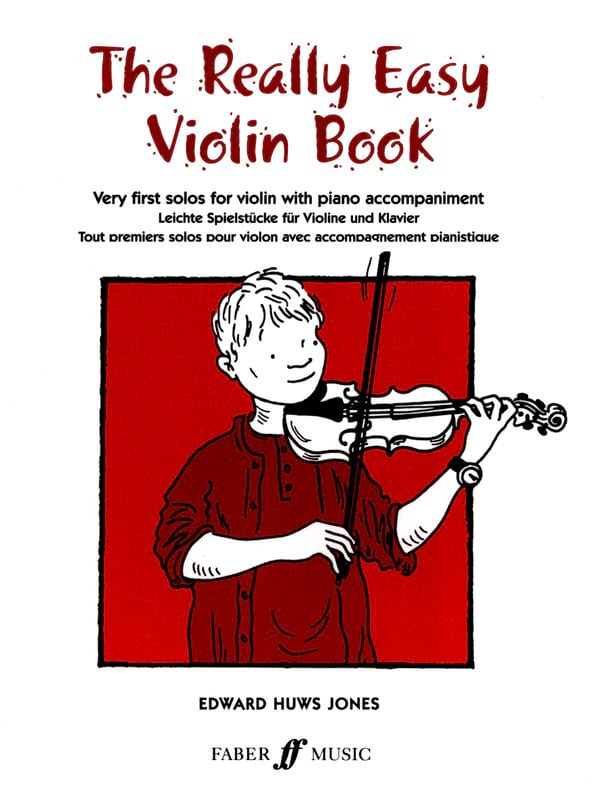 Jones Edward Huws - The Really Easy Violin Book - Partition - di-arezzo.co.uk