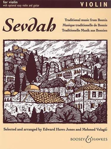 Huws Jones Edward / Velagic Mehmed - Sevdah - Violin - Partition - di-arezzo.co.uk