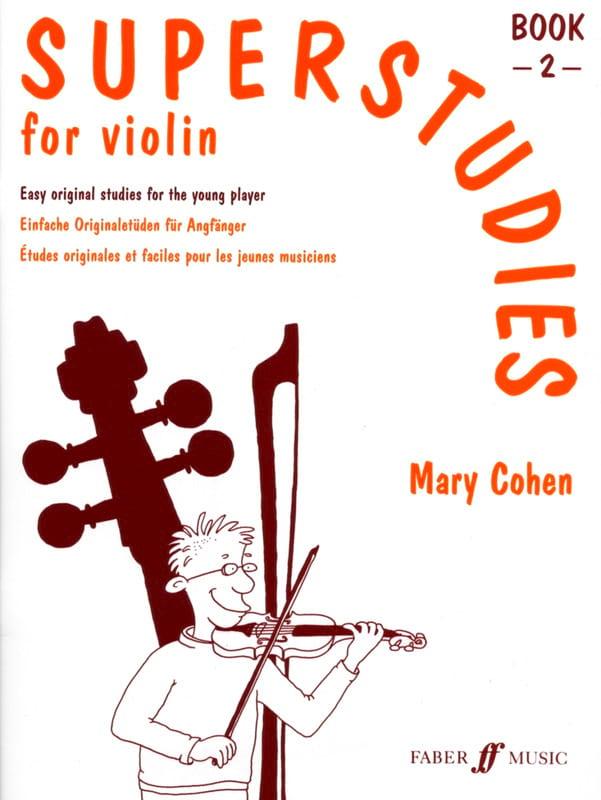 Superstudies Volume 2 - Violin - Mary Cohen - laflutedepan.com