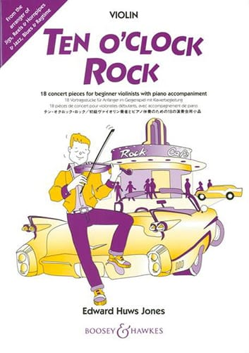 Ten O'clock Rock - Violon - Jones Edward Huws - laflutedepan.com