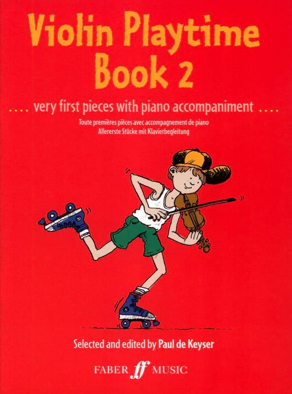 Paul de Keyser - Violin Playtime book 2 - Partition - di-arezzo.co.uk