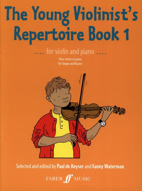 Keyser Paul de / Waterman Fanny - The young violonist's repertoire, book 1 - Partition - di-arezzo.com