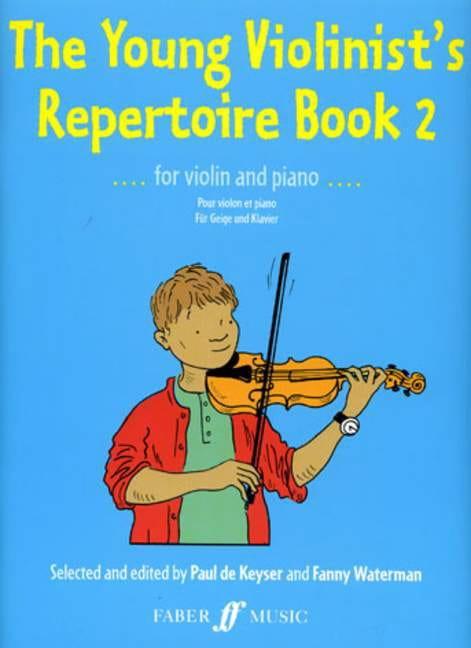 Keyser Paul de / Waterman Fanny - The Young Violonist's Repertoire Volume 2 - Partition - di-arezzo.fr