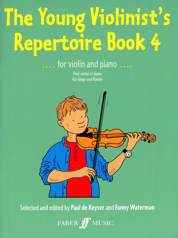 Keyser Paul de / Waterman Fanny - The Young Violinist's Repertoire Book 4 - Partition - di-arezzo.com