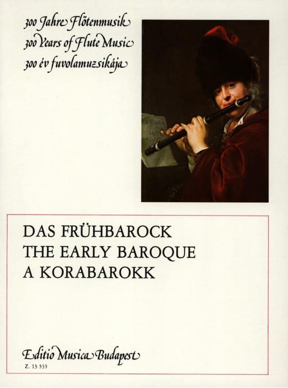 The Early Baroque - Flûte et Piano - Partition - laflutedepan.com