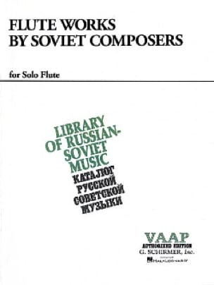 Flute Works by Soviet Composers - Partition - laflutedepan.com