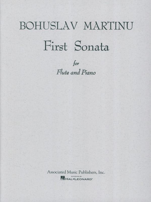 First Sonata - Flute piano - MARTINU - Partition - laflutedepan.com