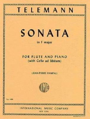 Sonate en Fa Majeur - TELEMANN - Partition - laflutedepan.com