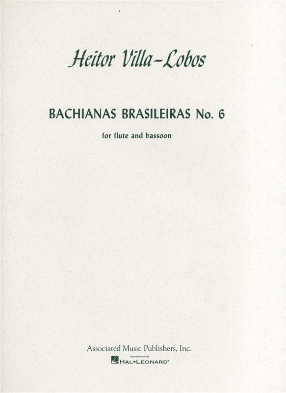 Bachianas brasileiras n° 6 - Flûte basson - laflutedepan.com