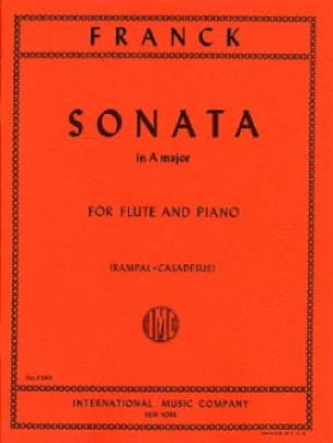 Sonata In A Major - FRANCK - Partition - laflutedepan.com