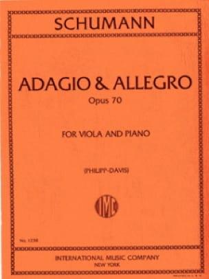 Adagio & Allegro op. 70 - SCHUMANN - Partition - laflutedepan.com