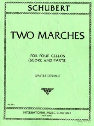 SCHUBERT - 2 Steps - 4 Cellos - Partition - di-arezzo.co.uk