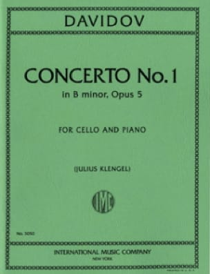 Concerto n° 1 op. 5 si mineur - Charles Davidoff - laflutedepan.com