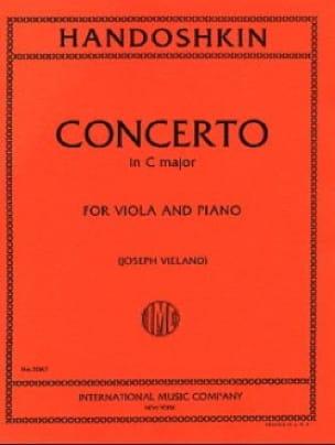 Concerto in C major - Viola - Ivan Handoshkin - laflutedepan.com