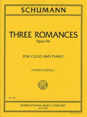 SCHUMANN - 3 Romances op. 94 - Partition - di-arezzo.fr