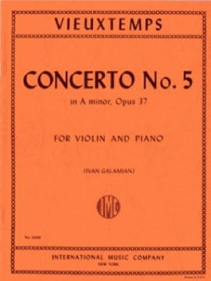Henri Vieuxtemps - Violin Concerto No. 5 a minor op. 37 - Partition - di-arezzo.com