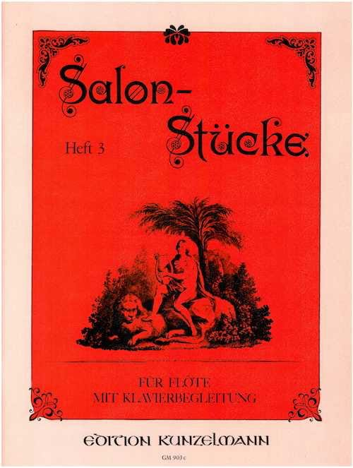 - Salonstücke - Heft 3 - Volume 3 - Partition - di-arezzo.co.uk