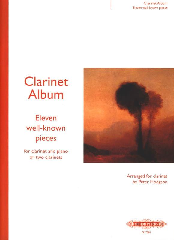 Clarinet Album - Volume 2 - Peter Hodgson - laflutedepan.com