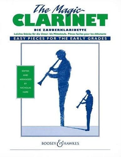 Magic Clarinet - Nicholas Hare - Partition - laflutedepan.com