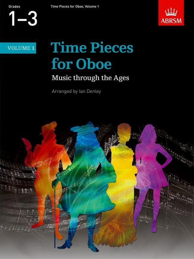 Time Pieces For Oboe Volume 1 - Ian Denley - laflutedepan.com