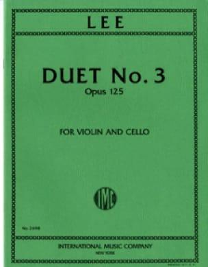 Duet n° 3 op. 125 - Sebastian Lee - Partition - 0 - laflutedepan.com