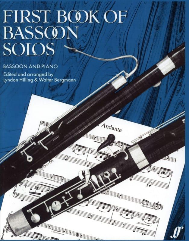 First book of Bassoon Solos - laflutedepan.com