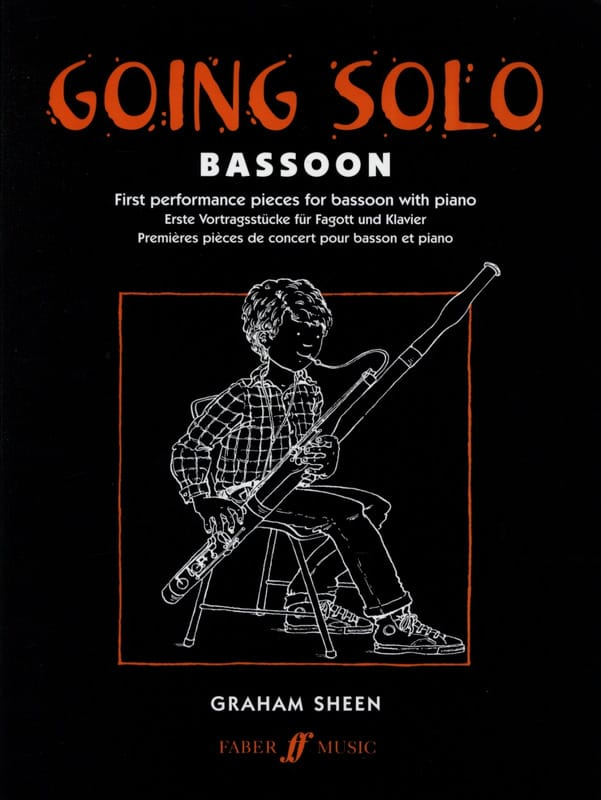 Graham Sheen - Going Solo - Bassoon - Partition - di-arezzo.com