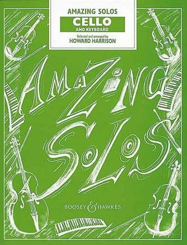 Amazing Solos - Cello - Howard Harrison - Partition - laflutedepan.com